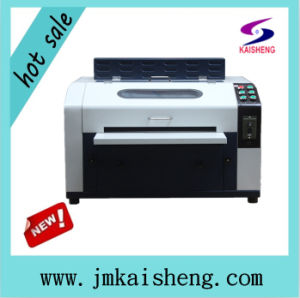 Ce Desktop UV Coating Machine for Printing Paper pictures & photos