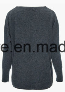 Women′s Round Neck Casual Style Top Grade Pure Cashmere Sweater pictures & photos