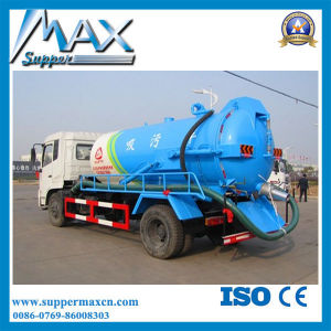Sinotruk Light Sewage Suction Truck with Small Engine pictures & photos