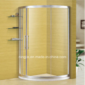 Top Grade Aluminium Glass Bathroom Sanitary Ware Shower Enclosure (NJ-021C) pictures & photos