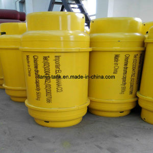 High Quality Liquid Chlorine Gas Cylinder with Valves pictures & photos