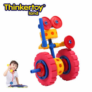 Thinkertoy Land Blocks Educational Toy Robot Series Wall E Intelligent Robot (R6103)