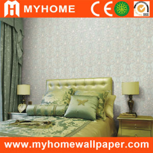 Guangzhou Low Price PVC Wallpaper (BT005-3) pictures & photos