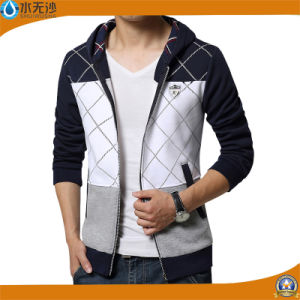 Fashion Brand Sweatshirts Men Zipper Hoodies Printing Slim Fit Hoodies pictures & photos