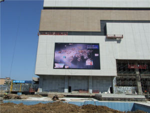 Outdoor P6.25 Full Color LED Display pictures & photos