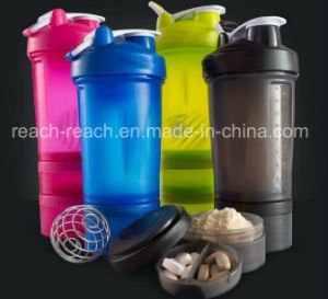 Smart Bottle Plastic Protein Shaker pictures & photos