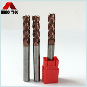 China Good Manufacturer HRC55 R1.0 Toridal End Mills pictures & photos