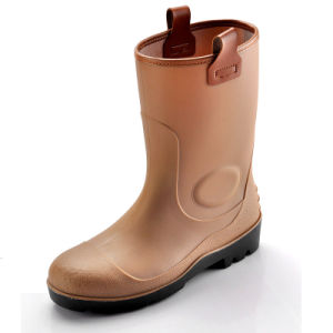Rain Boot with Safetoe (JK46508) pictures & photos