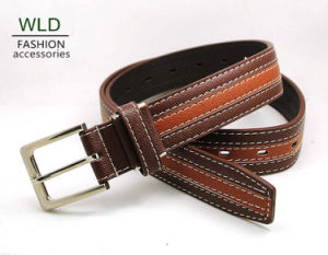Classic and Basic Man Belt with Split Leather Linning M550 pictures & photos