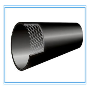 HDPE Composite Pipe with Stainless Steel Reinforced pictures & photos