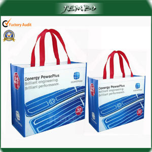 Reusable Waterproof PP Nonwoven Laminated Bag for Shopping pictures & photos