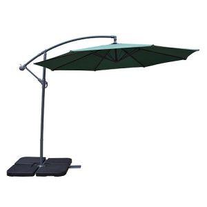 10-FT. Round Outdoor Cantilever Umbrella