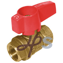 CSA Brass Gas Ball Valve with Butterfly Handle pictures & photos
