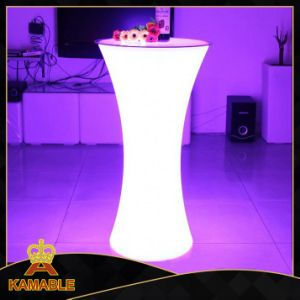 LED Furniture Colors Changing LED Cocktail Table (G012) pictures & photos