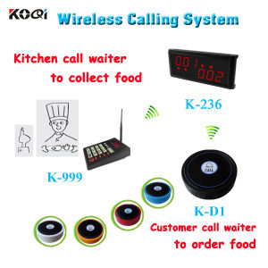 Wireless Table Call Ordering System for Restaurant with Low Price pictures & photos