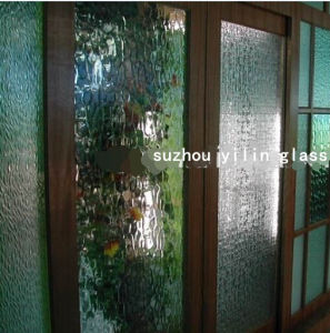 Tempered Patterned Glass for Private Partition pictures & photos