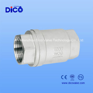 Stainless Steeel Spring One-Way Valve 1000wog (H12W) pictures & photos