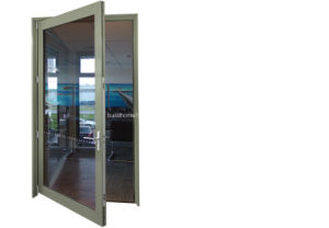 Modern Creative Recyclable Swinging Aluminium Door pictures & photos