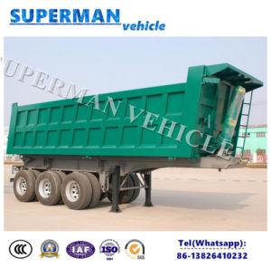 Heavy Duty Dry Cargo Tipper Trailer/Tipping Dumper Semi Truck Trailer pictures & photos