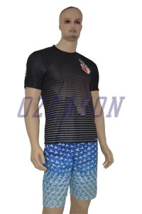 Short Sleeve Crew Neck Men′s Cool Dry Fit Sublimation Tshirt pictures & photos