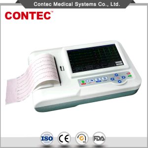 Portable ECG Machine Electrocardiograph with Ce Certificate-Contec pictures & photos