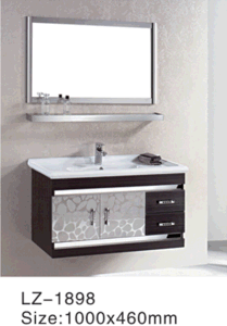 Sale Fast Stainless Steel Cabinet Bathroom Modern Bathroom Vanity Combo (LZ-5685) pictures & photos