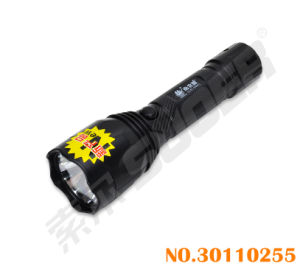 Rechargeable Flashlight Good Quality LED Torch with Chager (LD-265-Black) pictures & photos