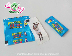Football Star Bubble Gum with Tattoo pictures & photos