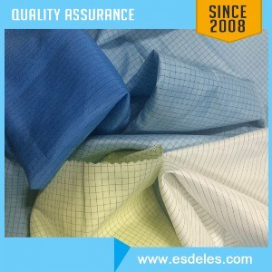 5mm Strip Antistatic Fabric Cotton Fabric Polyester Fabric (ES11401)