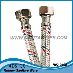 Flexible Hose in Aluminum Alloy Wires Braided (H02-010B) pictures & photos