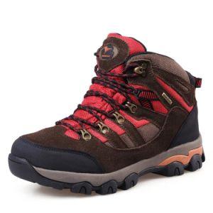 Trekking Shoes Outdoor Mountain Safety Climbing for Men (AK8910) pictures & photos