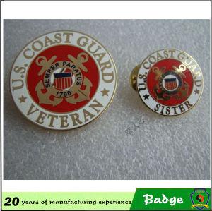 Antique Brass Plating Eagle Shape Metal Badges for Sale pictures & photos