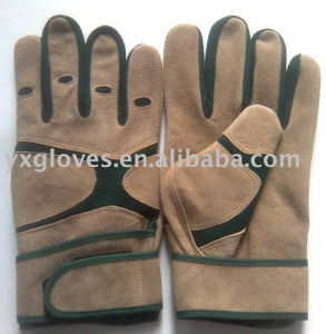 Cow Leather Glove-Mechanic Glove-Working Glove-Safety Glove pictures & photos