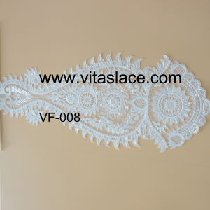 White Rayonwholesale Lace Aqqliques for Evening Gown Vf-008cp pictures & photos
