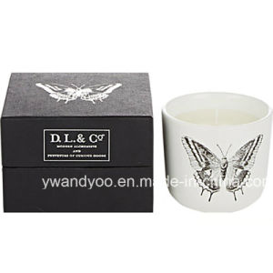 Soy Luxury Scented Glass Jar Candle with Gift Box