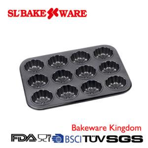 12 Cup Gatean Pan Carbon Steel Nonstick Bakeware (SL BAKEWARE) pictures & photos