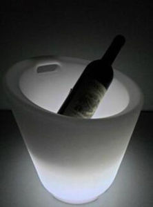 LED Color Changing Ice Wine Bucket pictures & photos