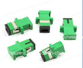 SC/APC Fiber Optic Connector Shutter Adapter