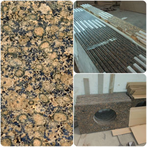Baltic Brown Granite Laminate Kitchen Countertop pictures & photos