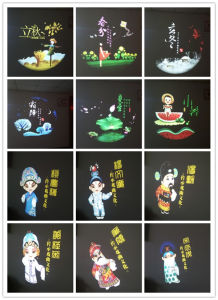 Letter Projectors Top Sale Model on Ledy Gobo Projector Model pictures & photos