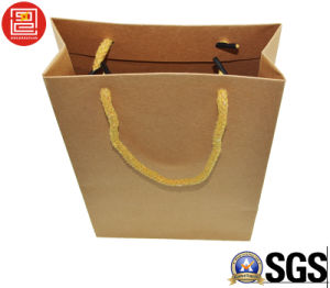 Kraft Paper Bag, Shopping Bag, Nutural Kraft Paper Carrier/Hand Bag, Recyclable Paper Shopping Bag pictures & photos
