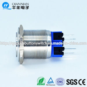 22mm No Nc Waterproof Elecator Self-Locking Anti-Vandal Switch pictures & photos