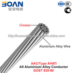 AAAC Conductor, Type Ankp, All Aluminium Alloy Conductor (GOST 839-80) pictures & photos