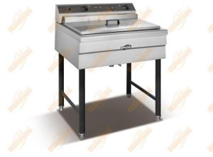 Upright Stainless Steel Fryer (521) pictures & photos