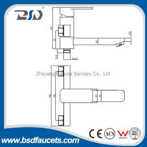 Single Handle Simple Square Shower Faucet Mixer pictures & photos
