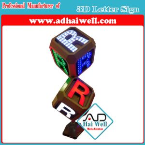 Precision Acrylic 3D LED Word Signage pictures & photos