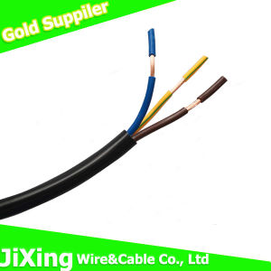 H05VV-F 3G1.0mm2 Flexible Power Cable pictures & photos