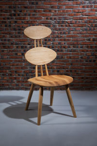 Latest Back Designs Solid Wood Dining Chair (CH-017)