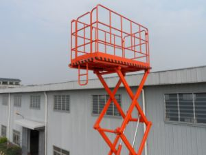 14 Meters Hydraulic Lift Table Truck pictures & photos