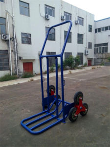 6 Whhel Can Climbing Stair Hand Trolley/Truck